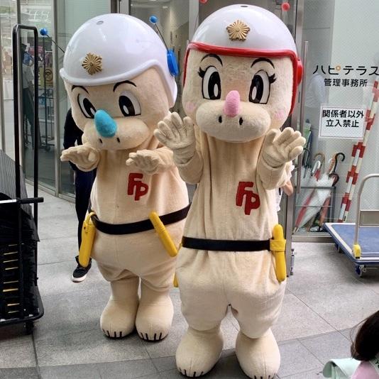 福井県警のキャラクターも恐竜なのだ。