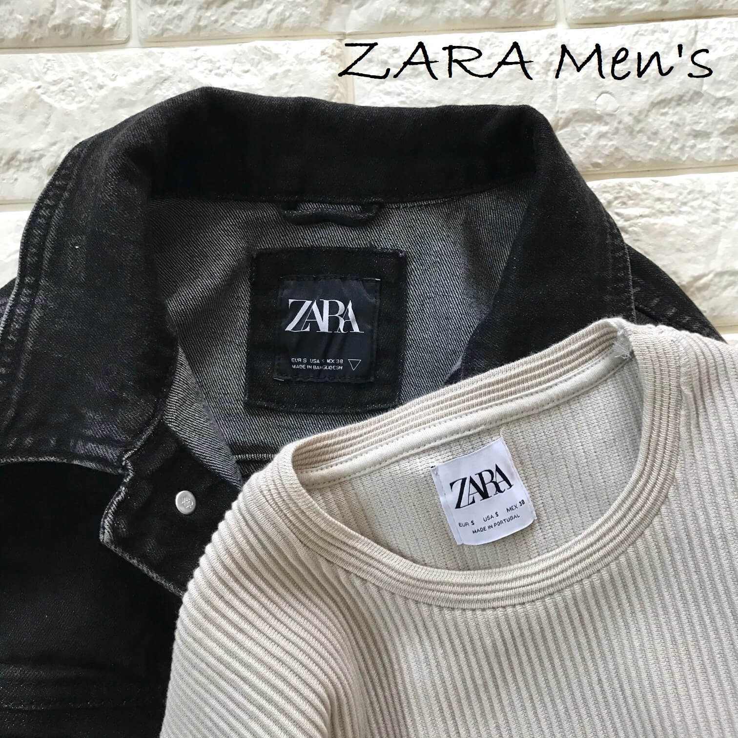 ZARA」のメンズ