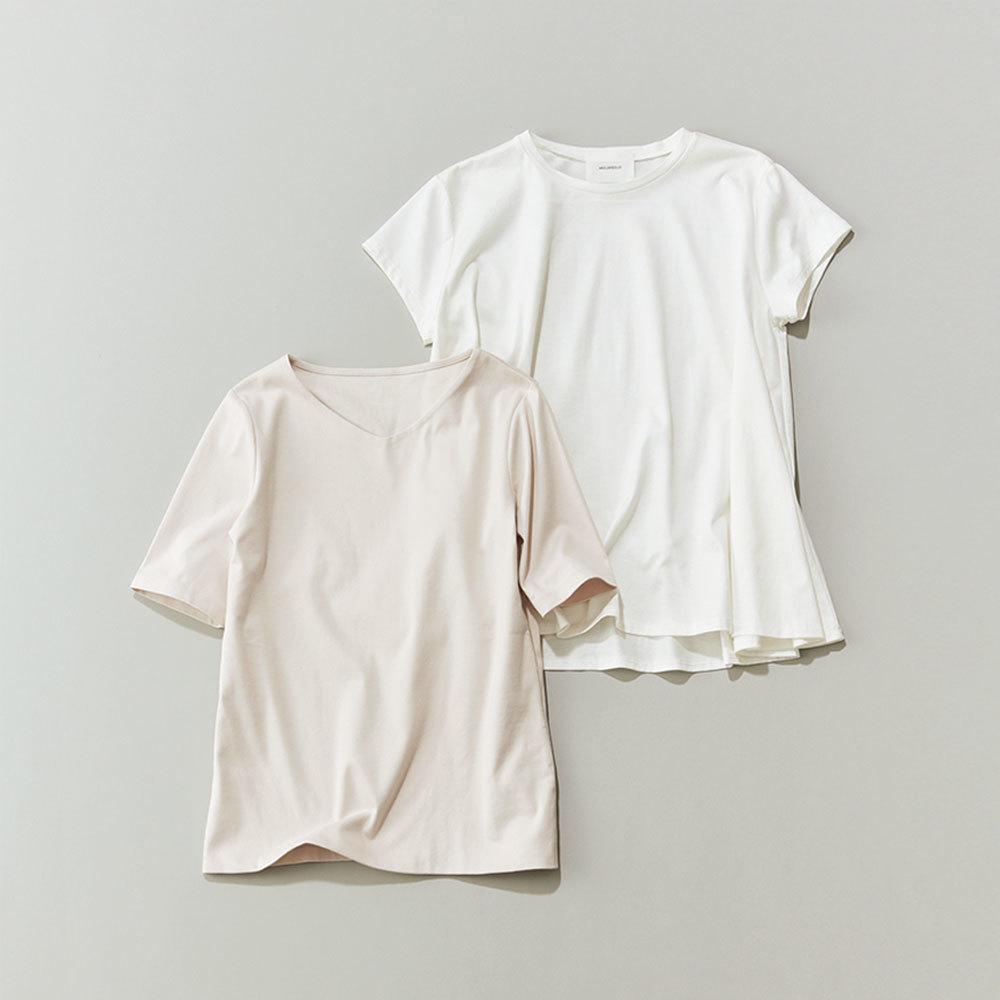 40代ファッション2019年夏のお仕事服_Tシャツ