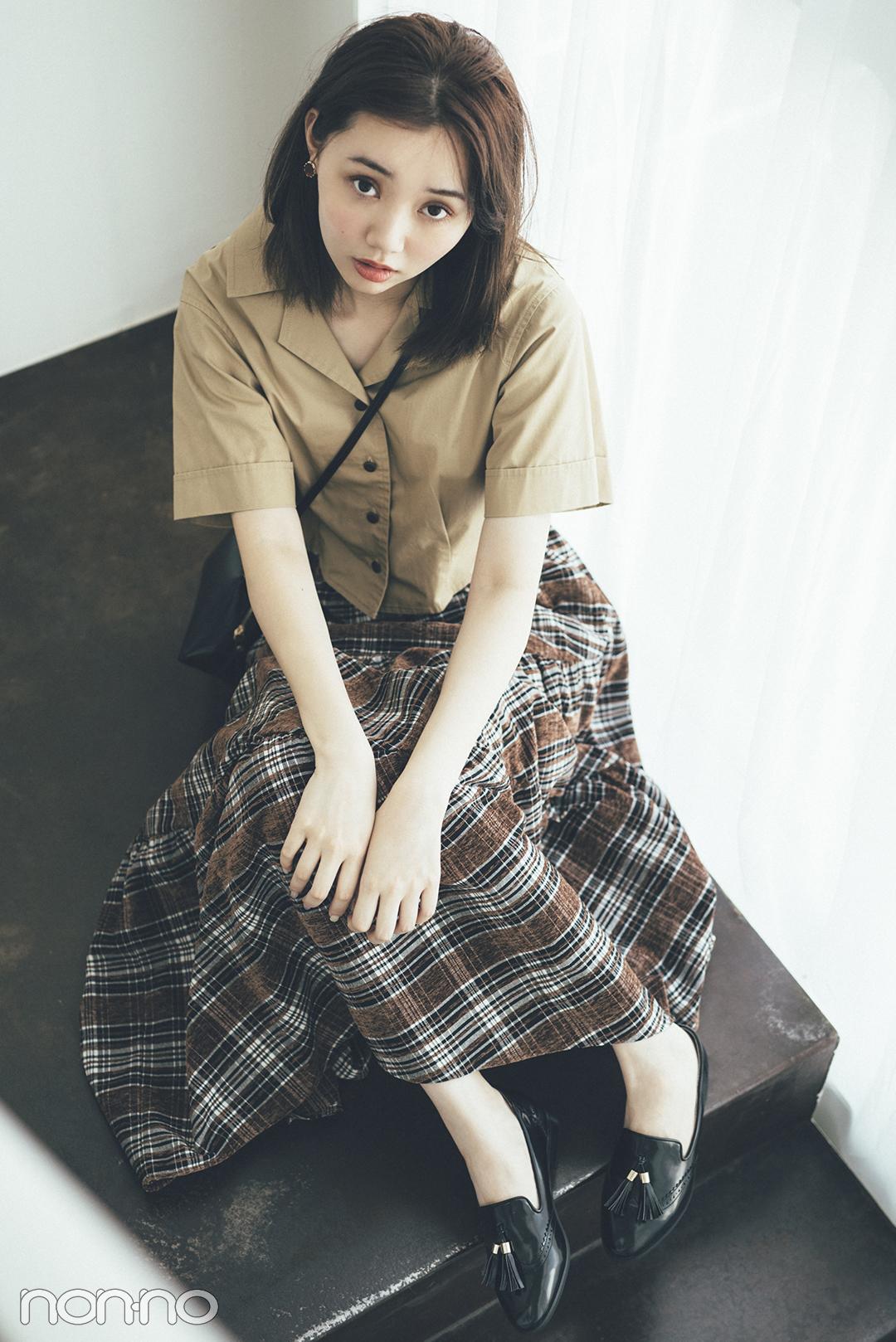 PATTERN4 レトロで知的♡ ビットつきの ローファーは男子ウケも最強 江野澤愛美