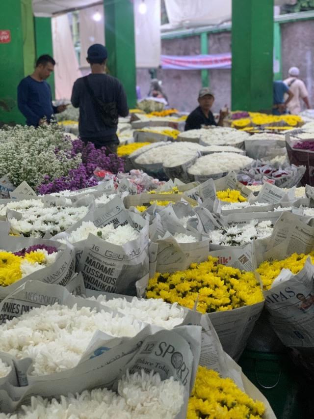 ジャカルタの花市場、Rawa Belong Flower Marketへ♪_1_5