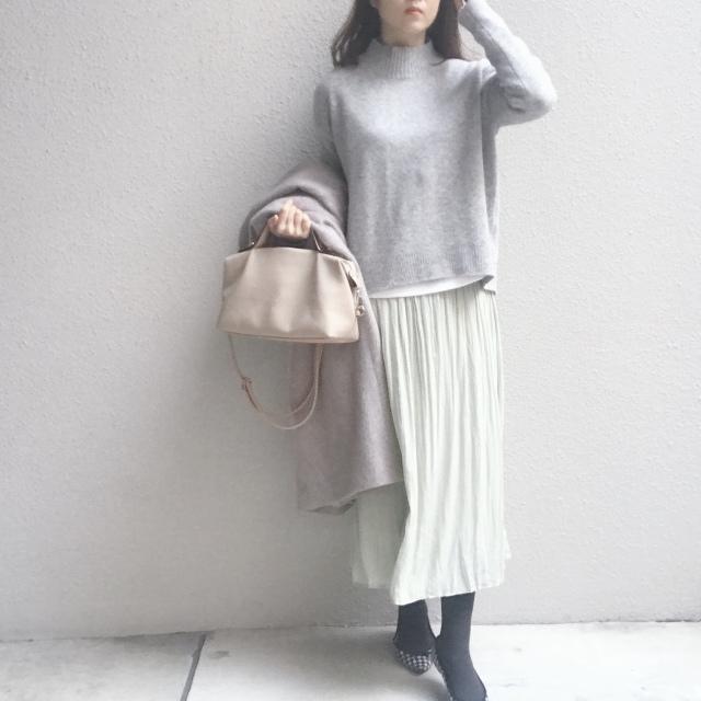 清潔感があって、しかも映える #ミントグリーン のスカート_1_2