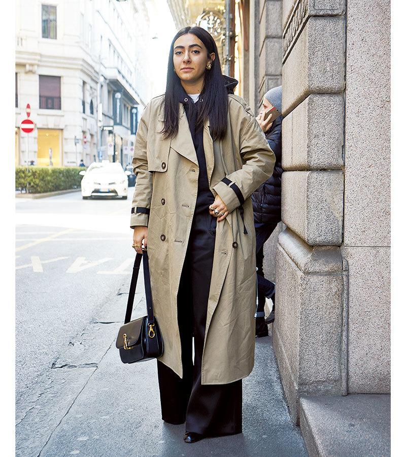 着るだけで 新鮮バランス完成!「ビッグシルエットコート」【ファッションSNAP ミラノ・パリ編】_1_1-3