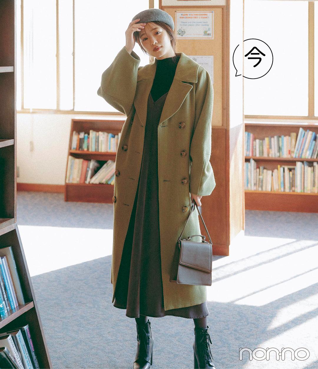 2021春トレンド★ キャミワンピ、今から春までこんなに使える!_1_3