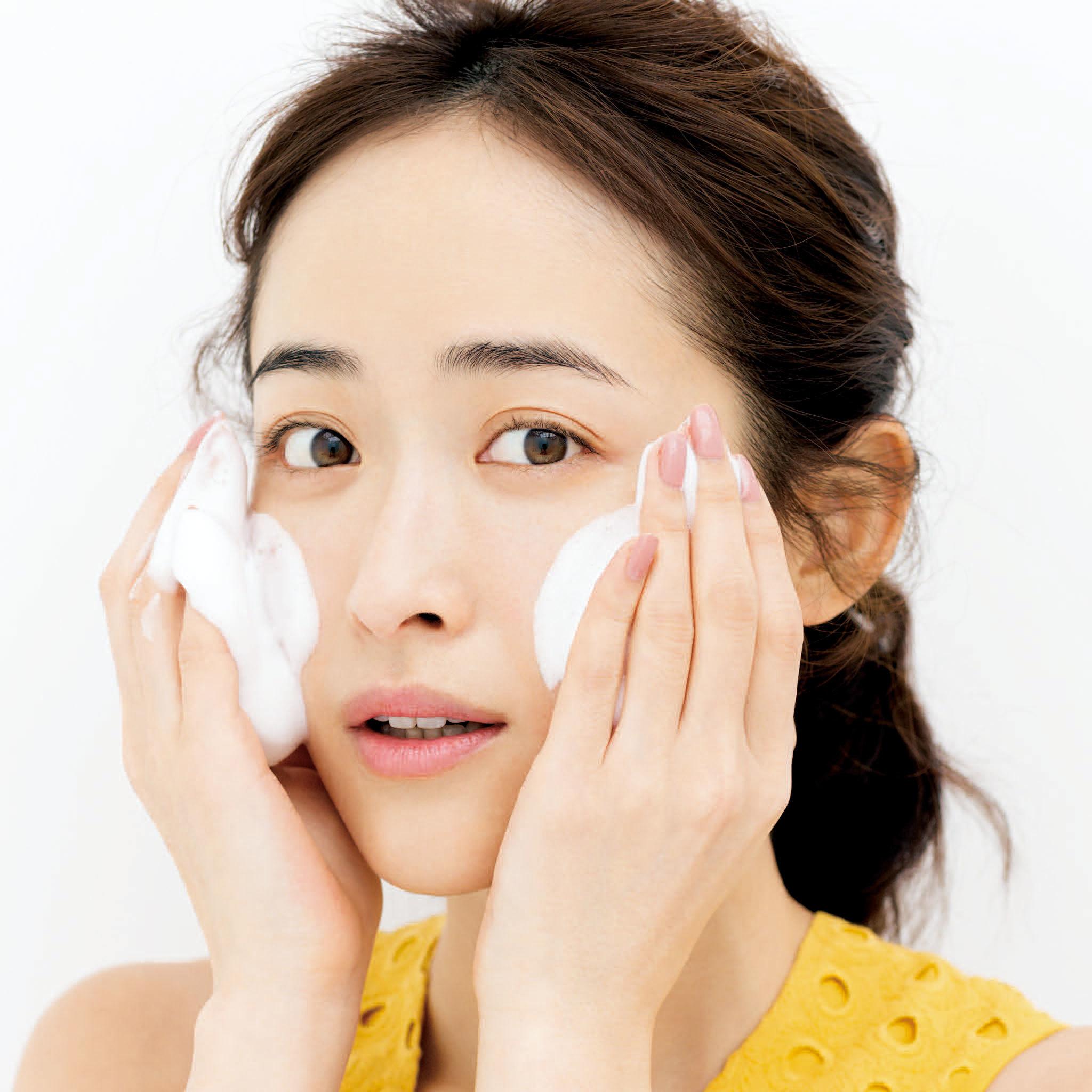 40歳からの老けない洗顔