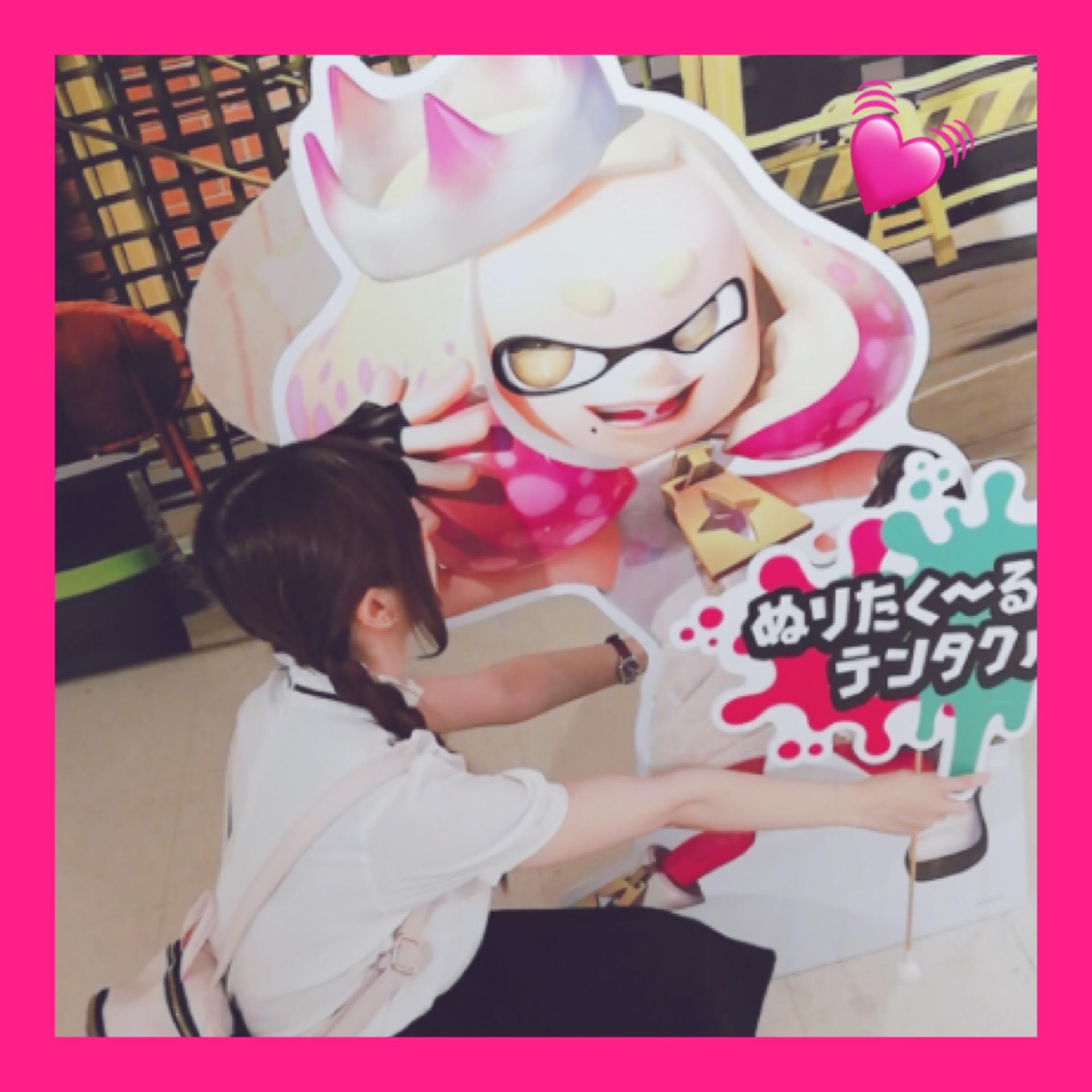 【Splatoon展】Shibuyaタワレコに行ってきました♡_1_4-1