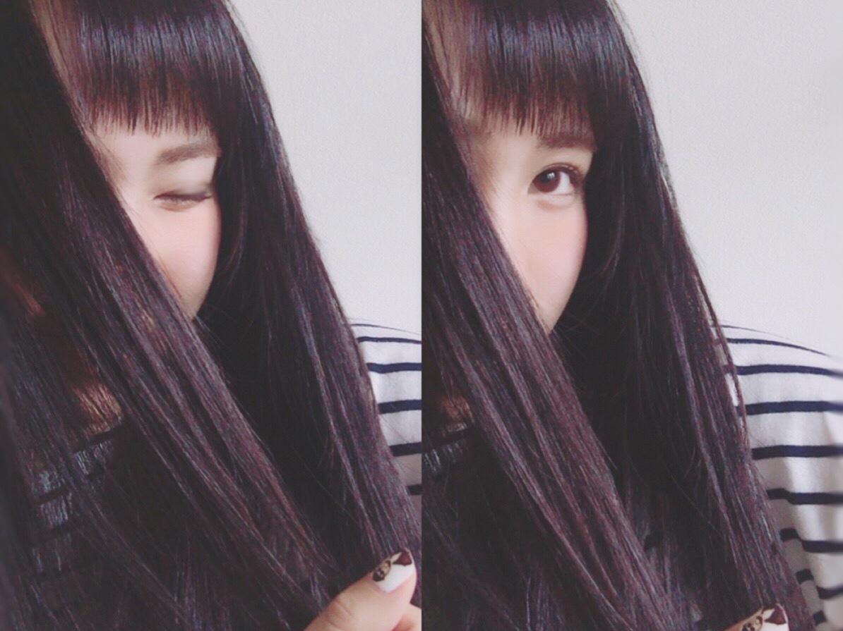 湿気で目にかかる前髪を防ごう!眉毛ギリギリ前髪(゚ロ゚)!_1_2