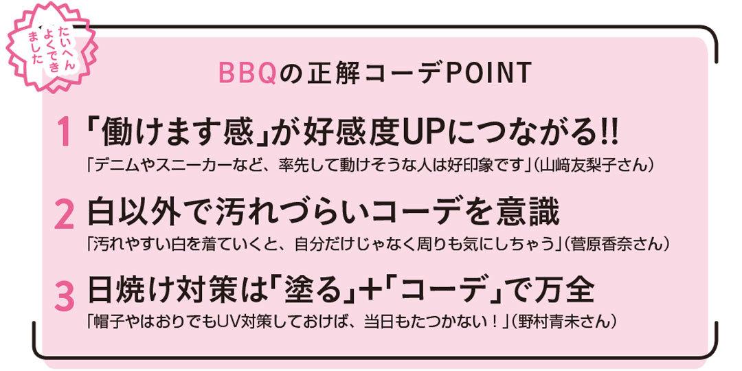 どうする? 友達とBBQ! 正解コーデ3スタイルはコレ♡【Point&NG解説も!】_1_2