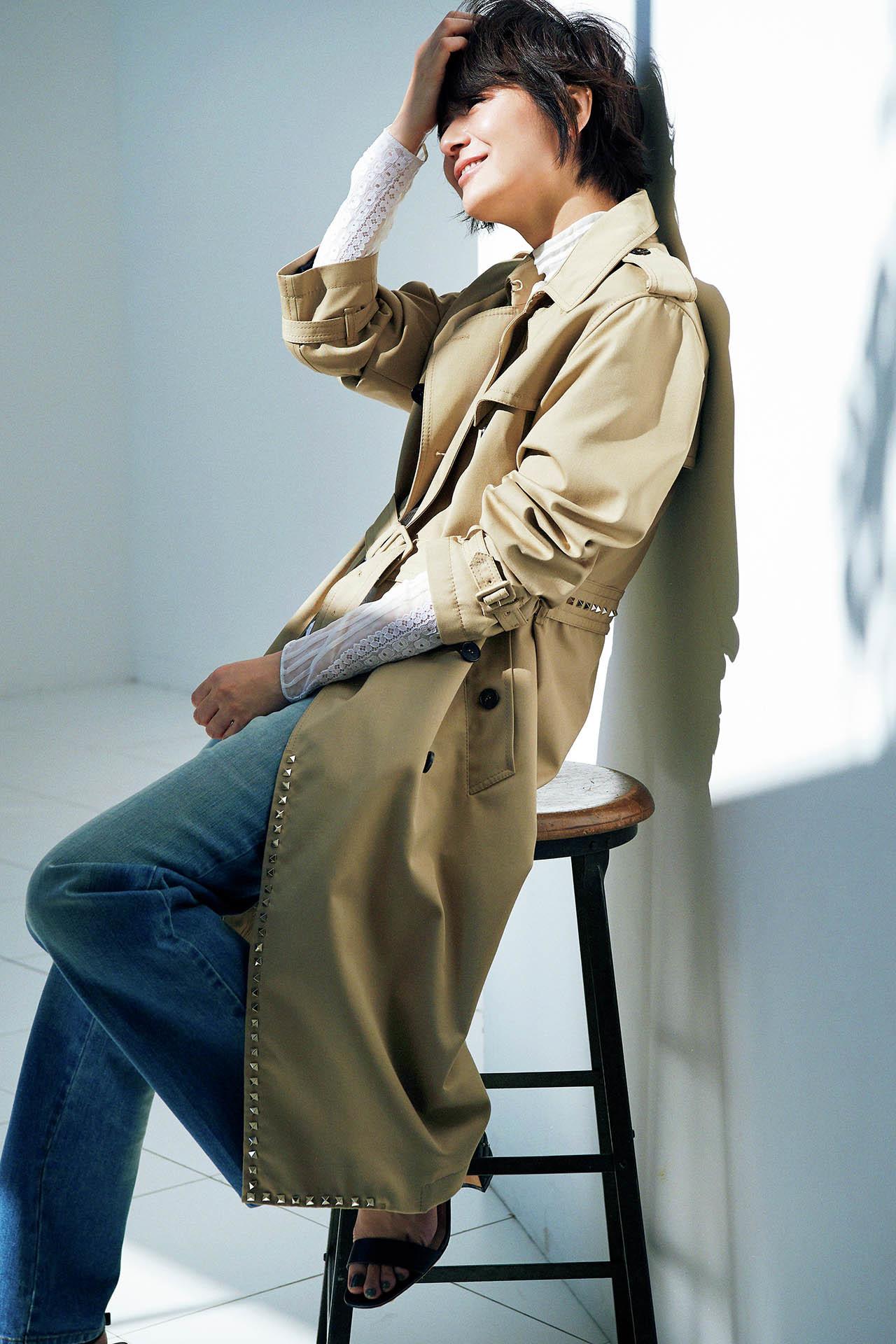 これが最後と思える一着を探して。富岡佳子の 「上がり」のトレンチ 五選_1_1-4