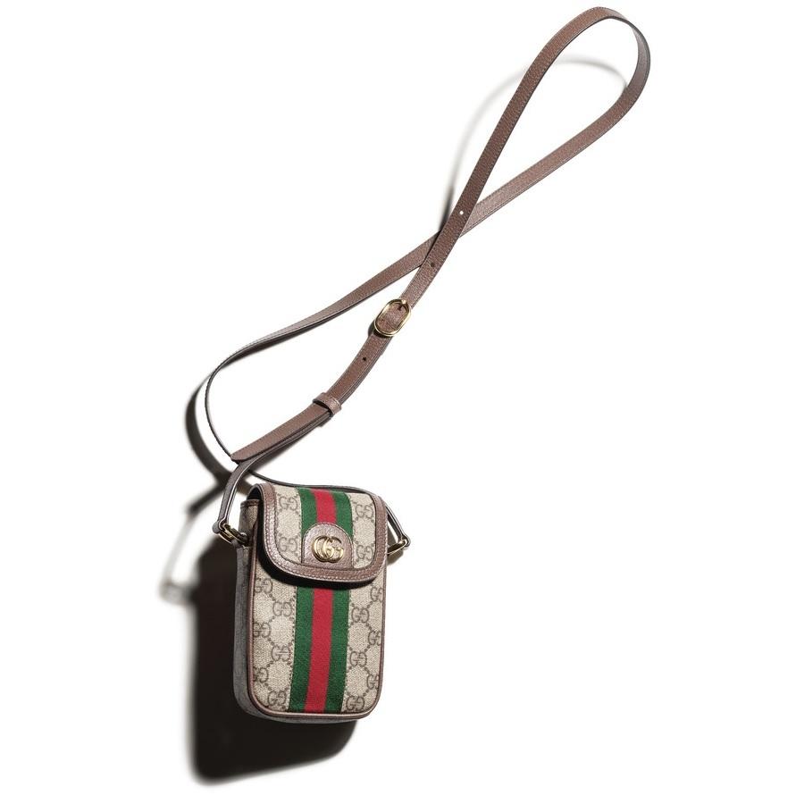 ファッション グッチのミニショルダーバッグ