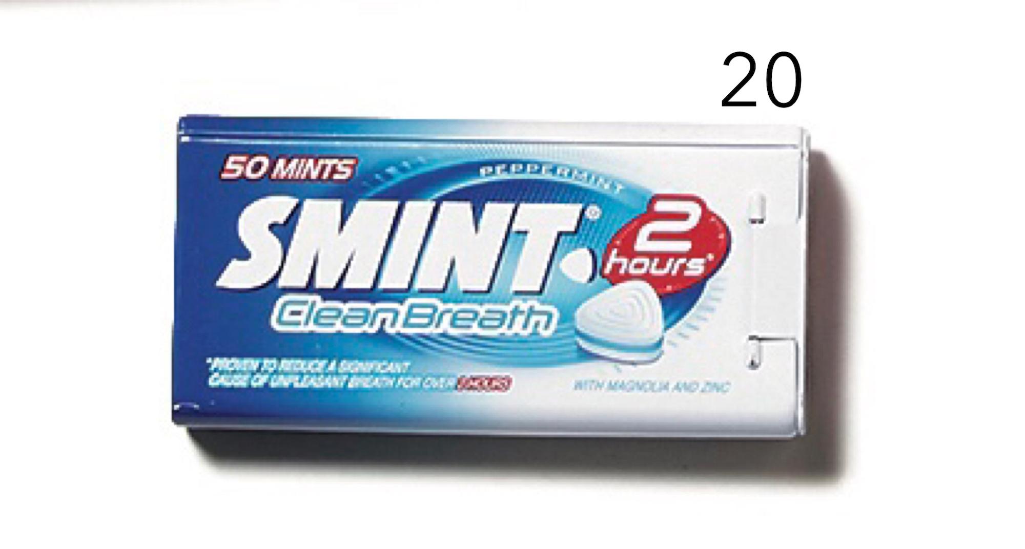 20スミントのキャンディ