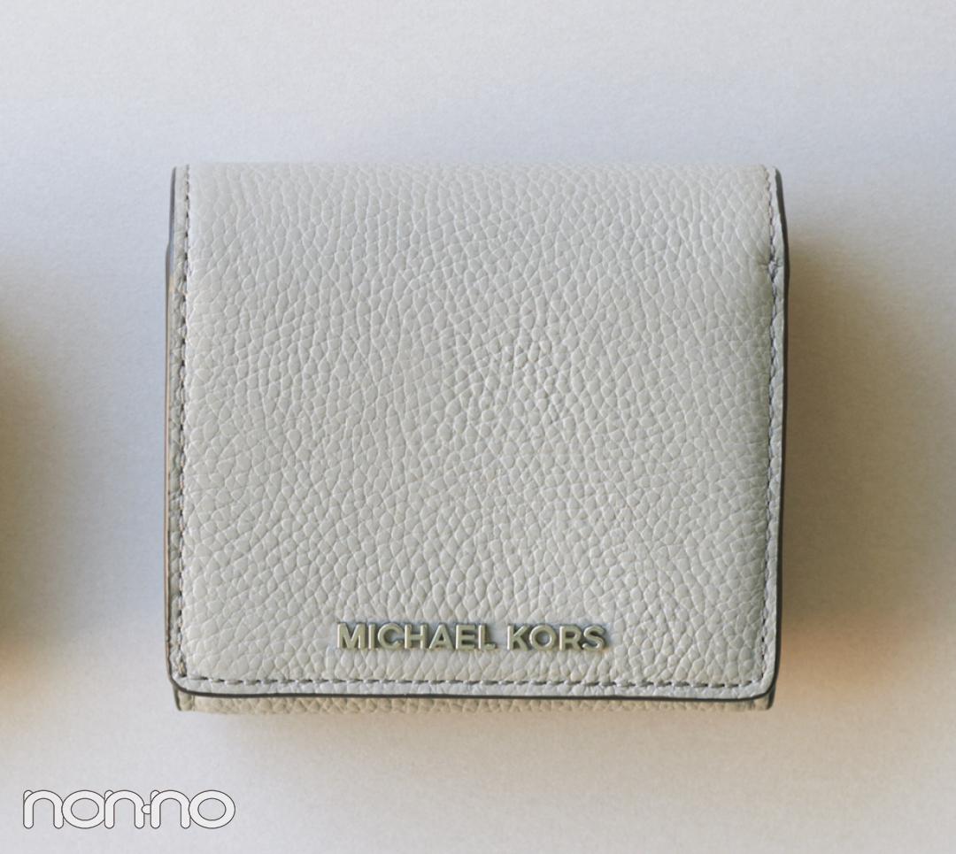 バッグの中身を新しく。マイケル マイケル・コースのミニ財布が上品知的!【20歳からの名品】_1_3-2