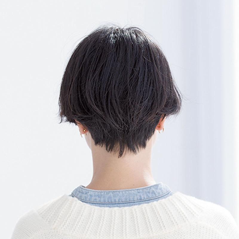 後ろから見た人気ヘアスタイル8位の髪型