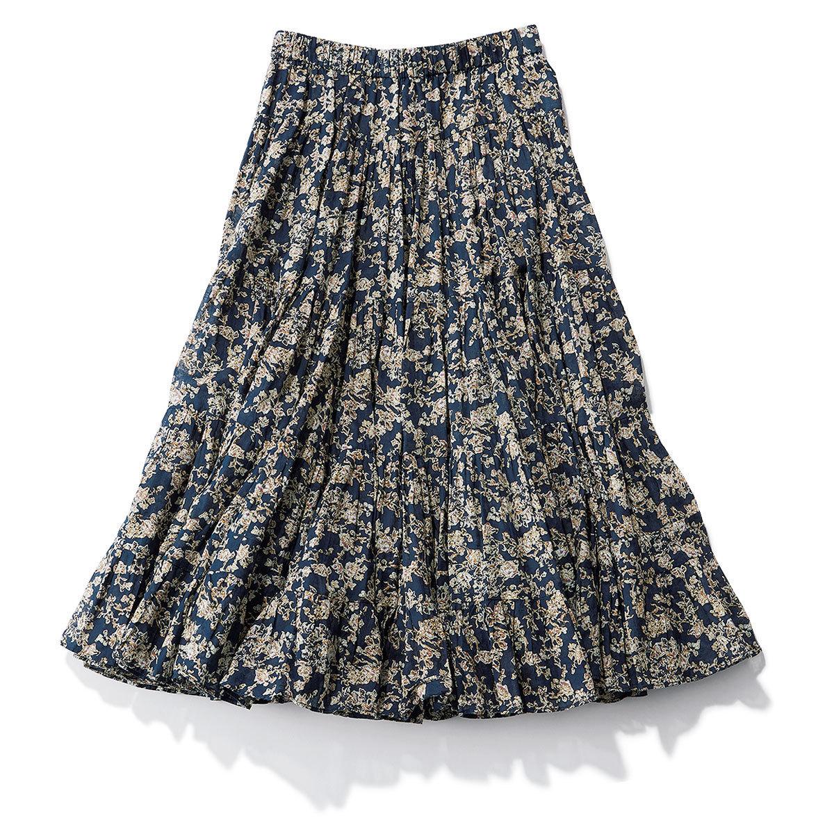 イザベルマランエトワールの花柄ロングスカート