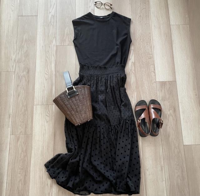 夏真っ盛りの今、クローゼットを整理して夏服を見直す【40代 私のクローゼット】_1_3