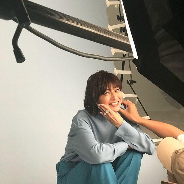 撮影中のお茶目な富岡さん♡_1_1