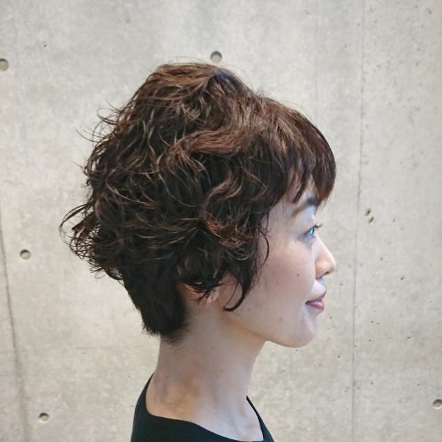 ショートヘアスタイルも季節に合わせて!_1_3-1