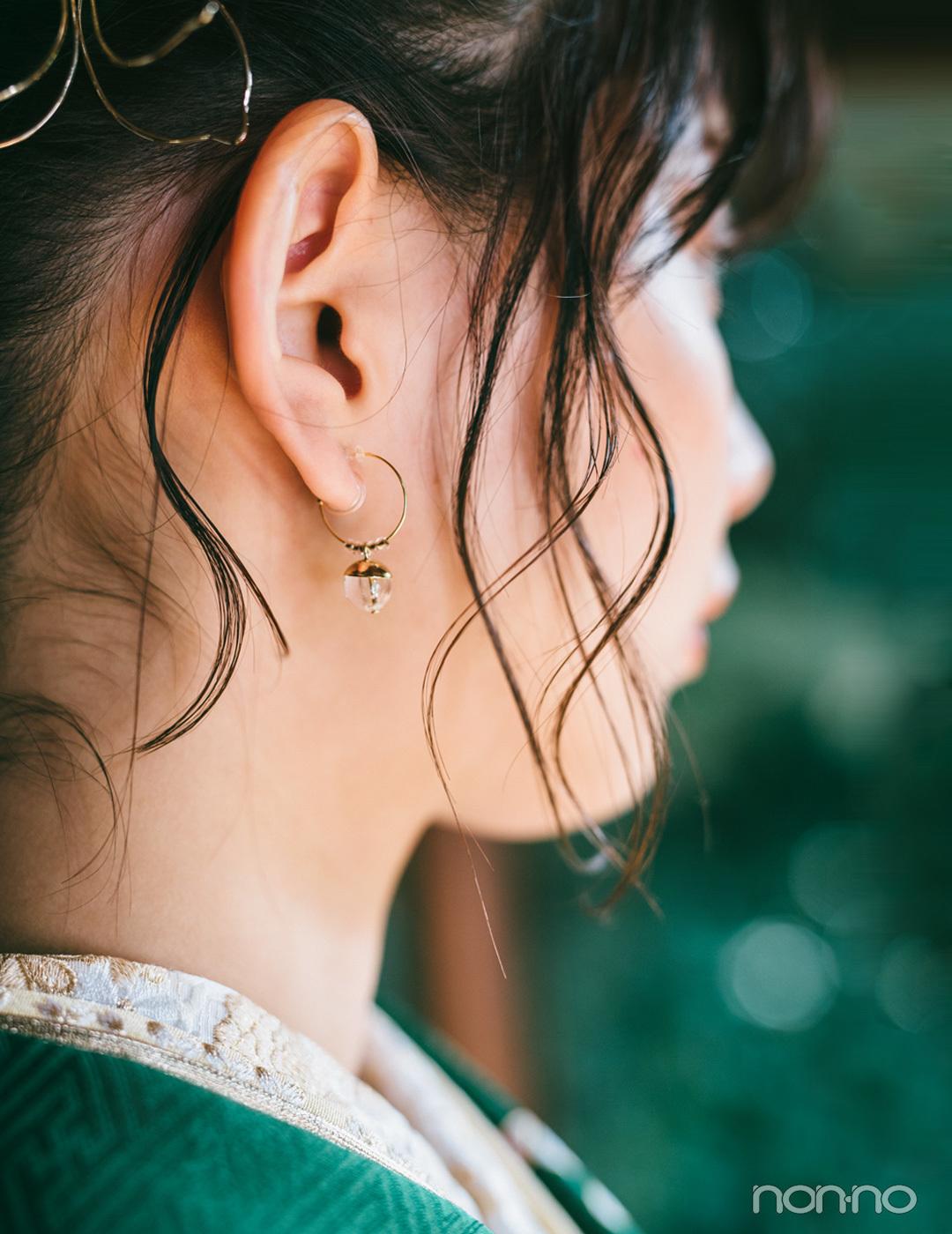 渡邉理佐の振袖コーデ♡ 欅坂46カラー、グリーンは輝きプラスでセンスアップ【成人式2020】_1_2-3