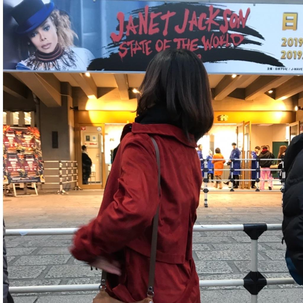 グレーデニムでJANET JACKSON STATE OF THE WORLD TOURへ_1_1