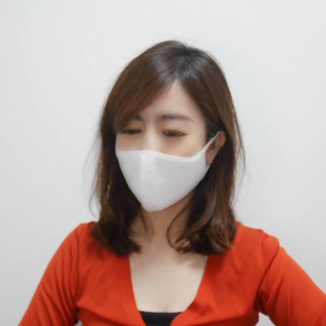 【ユニクロ・エアリズムマスク】動画レポ※着用感/SMLサイズ比較/メイク汚れのお洗濯_1_3