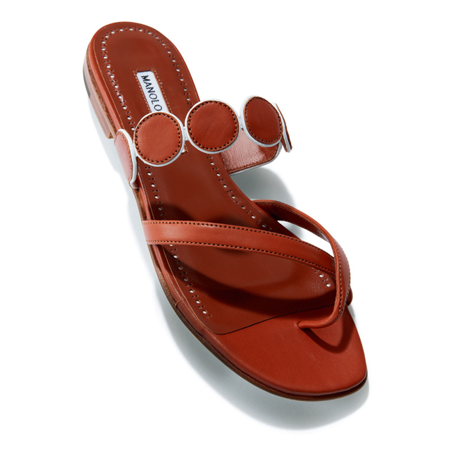 マノロ ブラニクの靴