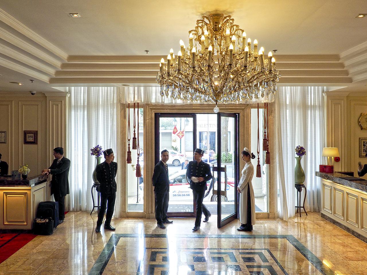 ハノイの真珠と絶賛される優雅なホテル、メトロポール_1_2