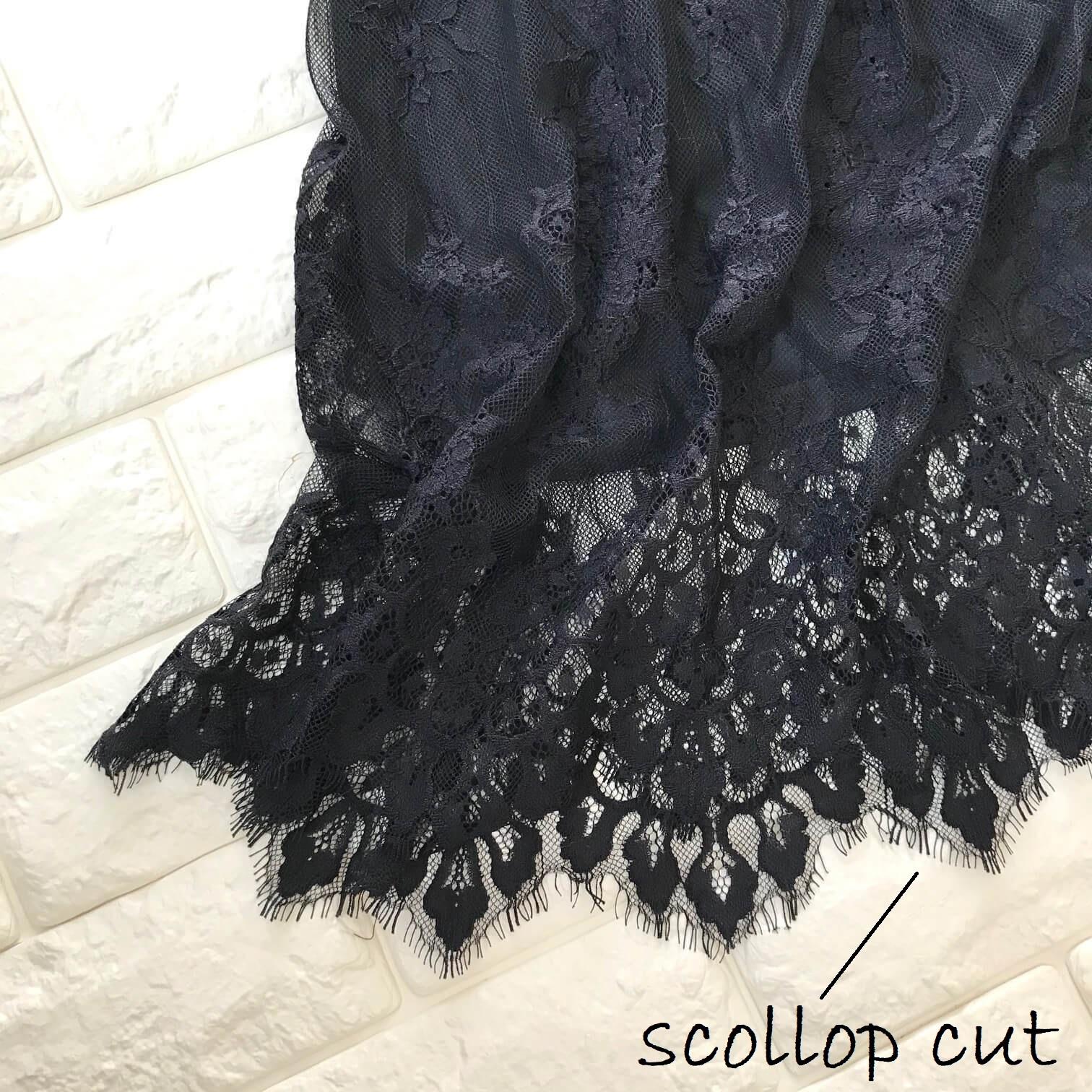 ロペピクニックレースドレスの裾部分画像