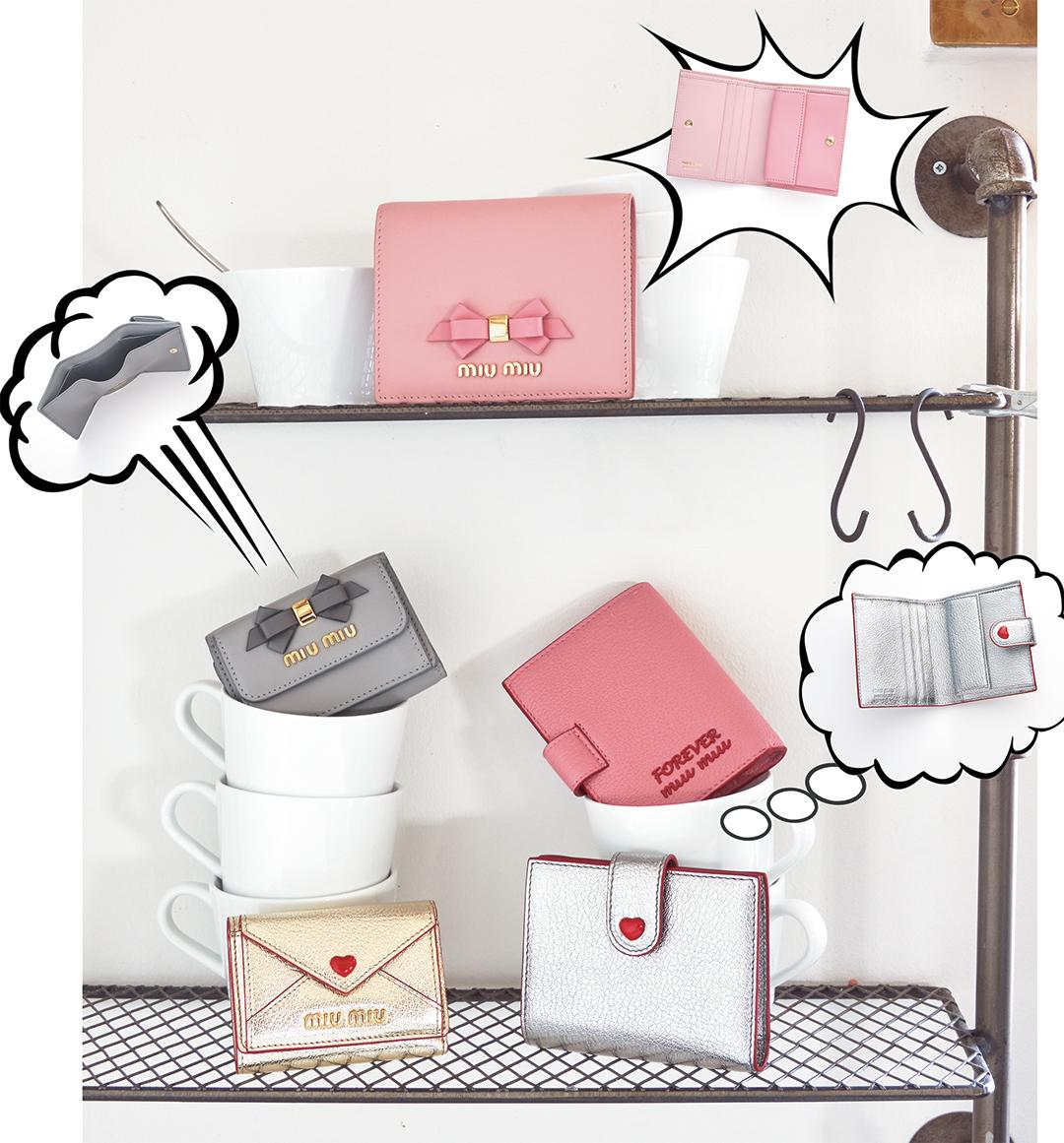 MIUMIU(ミュウミュウ)ミニ財布
