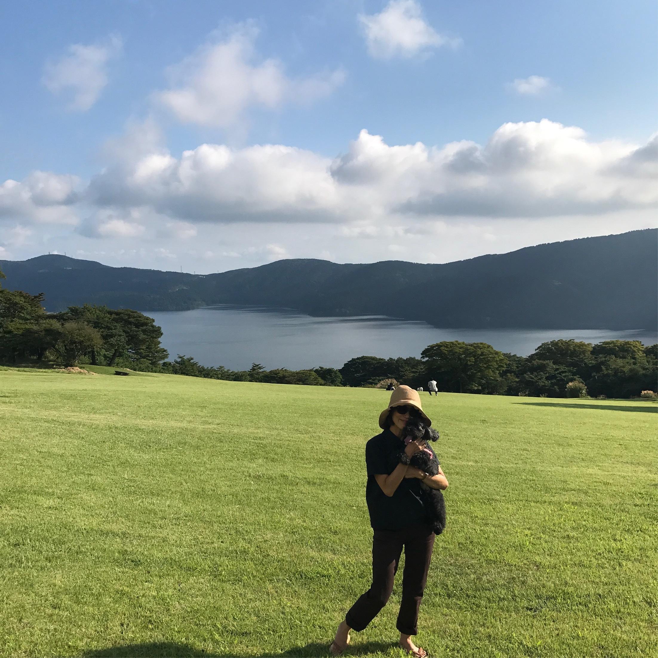 愛犬と箱根へ♪_1_1