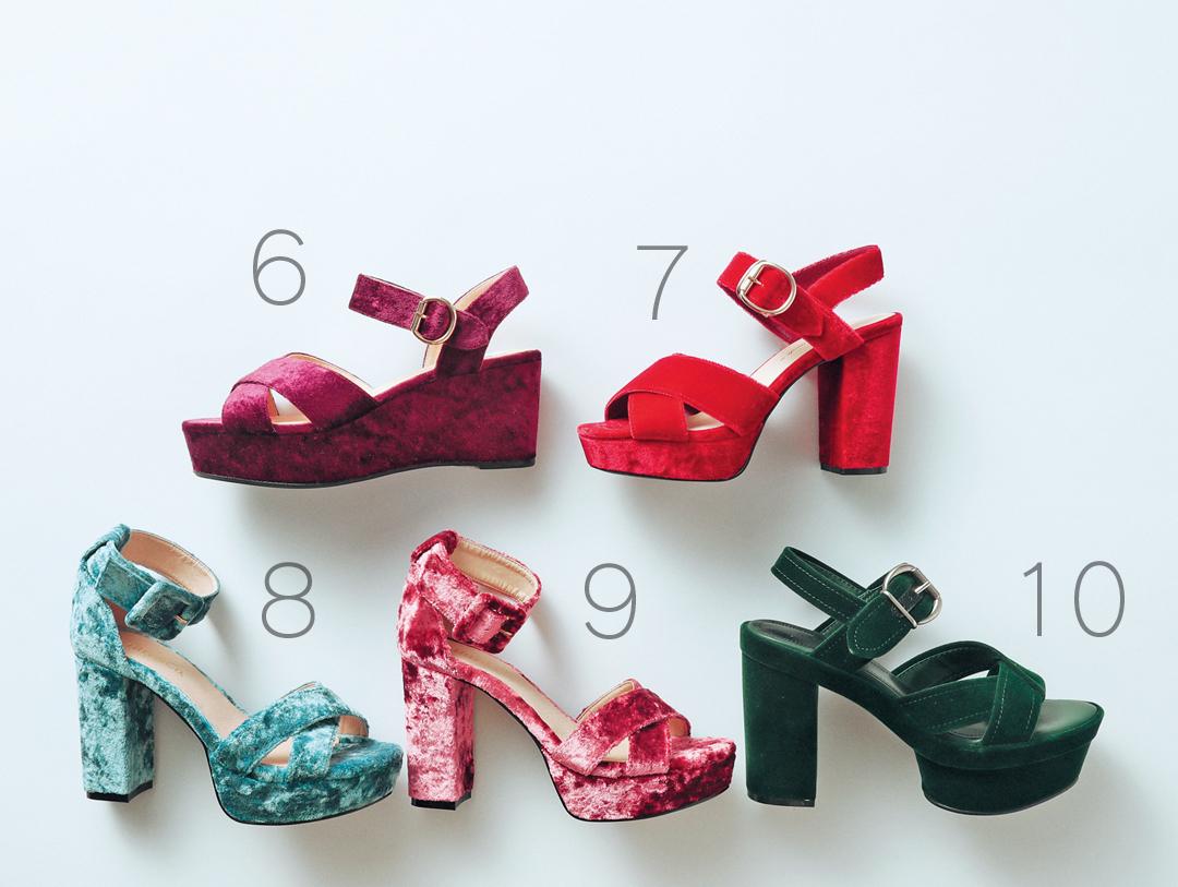 西野七瀬、秋はベロアの靴から始める! #プチプラもご紹介♡_2_1-2