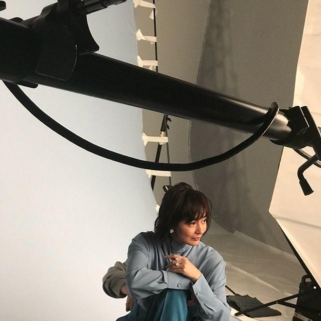 撮影中のお茶目な富岡さん♡_1_2
