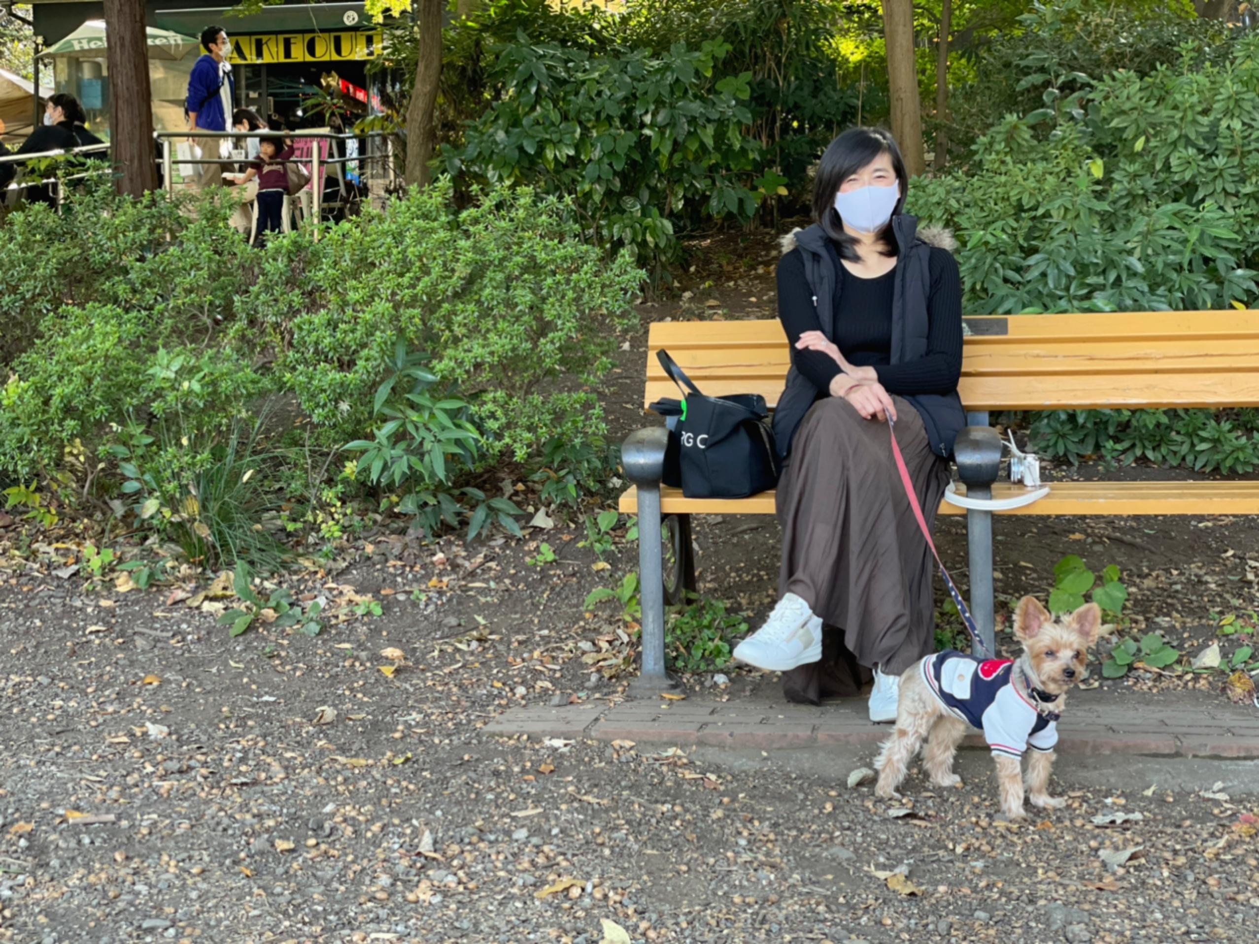 愛犬と秋のお出かけ_1_2