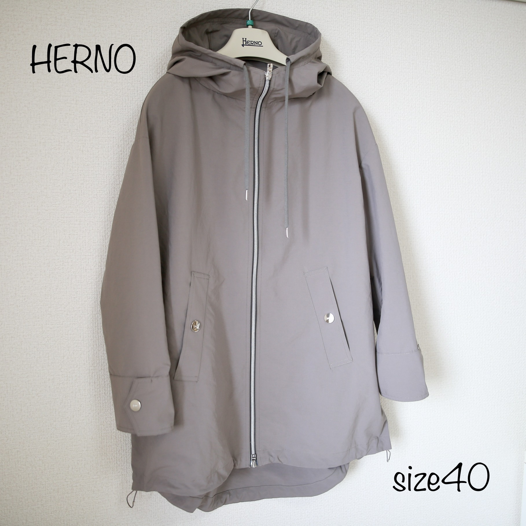 HERNO COAT(D.BEIGE)