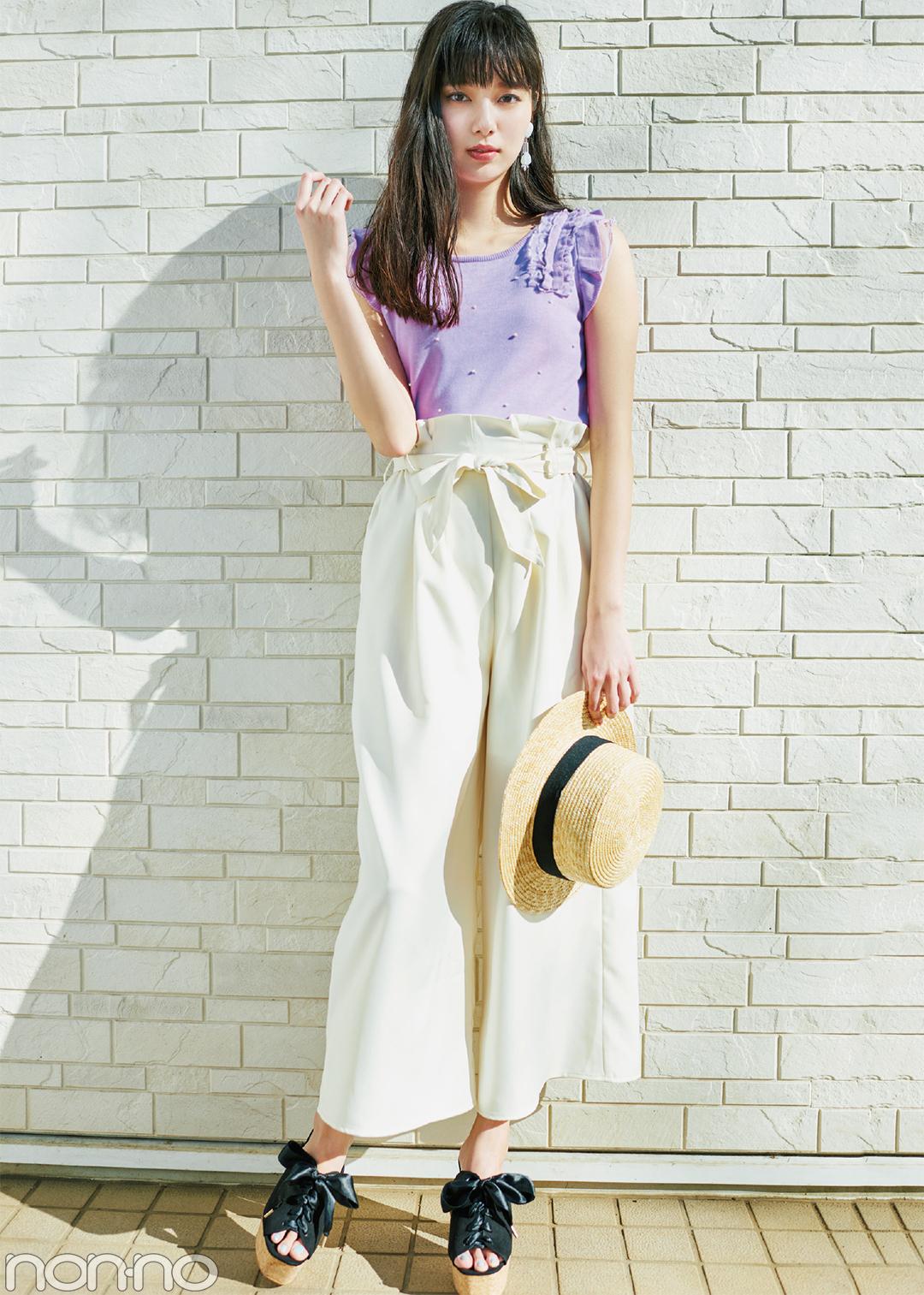 春から夏にシフトしたかったらコレ♡ 透明感ラベンダートップス4選!_1_1