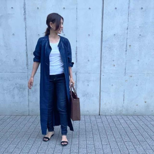 【2021トレンドシャツワンピースまとめ】アラフォーに似合う、今どきなシャツワンピのコーデ |40代ファッション_1_19