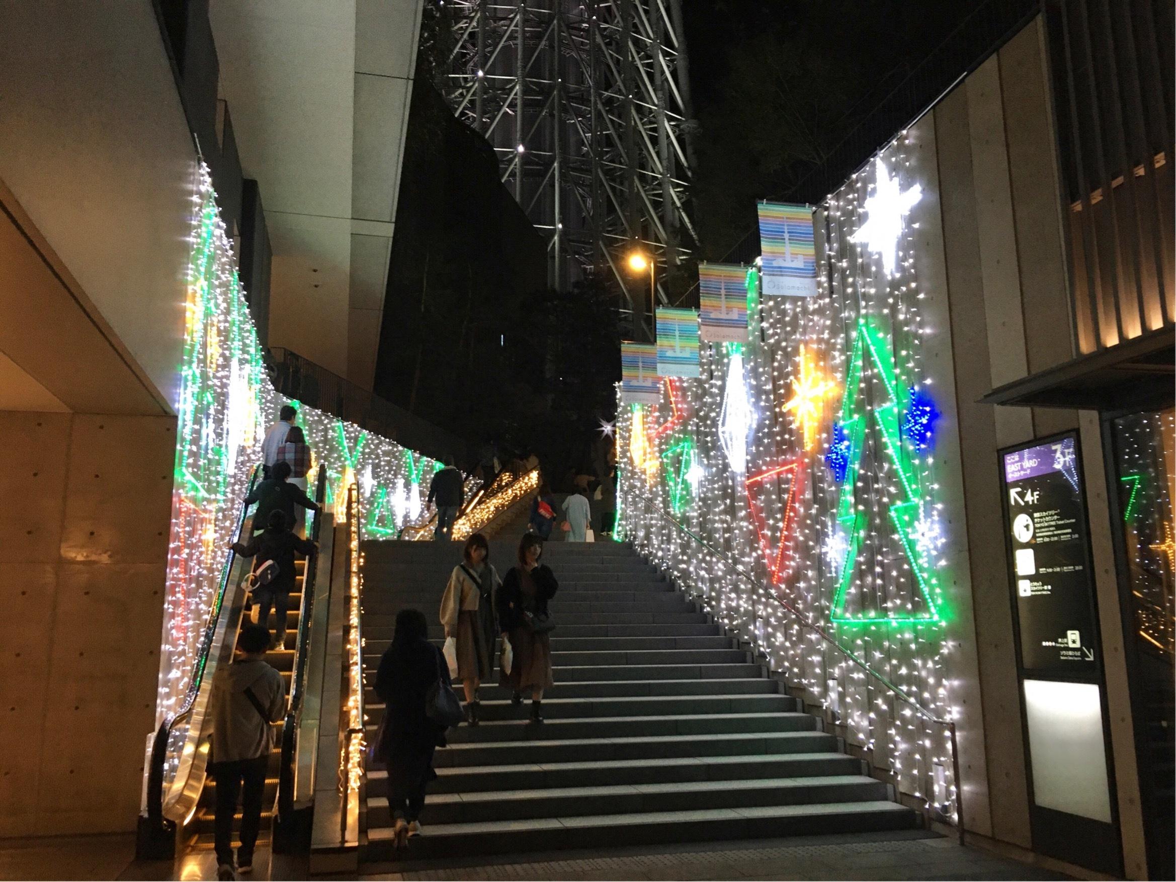 【デートにおすすめ】スカイツリーのクリスマス仕様がすごかった!_1_2-1
