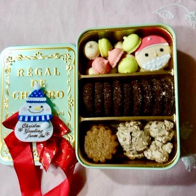 「CAFE TANAKA」レガルドチヒロのクリスマス限定缶♡_1_2
