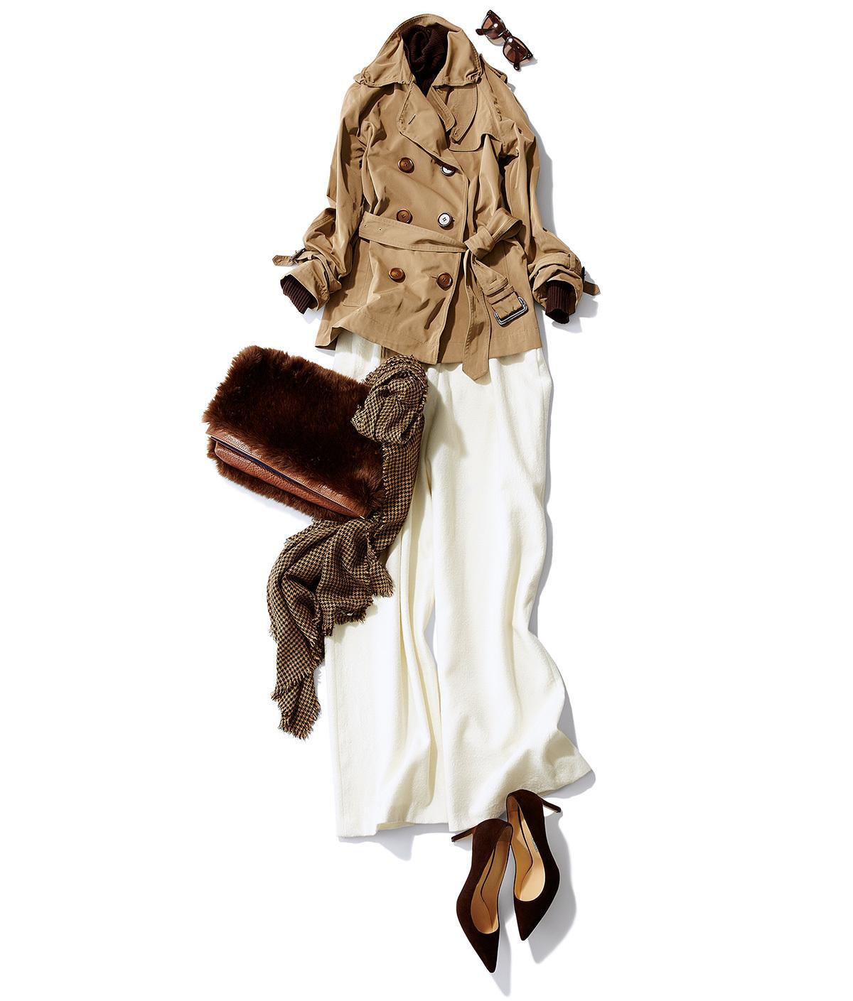 「茶色のバッグ」がコーデの要!スタイリスト徳原文子さん_1_3