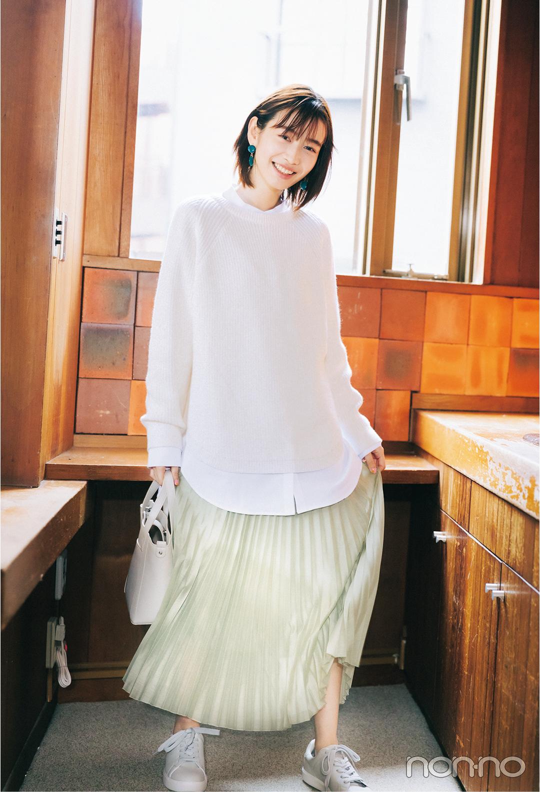 【GU春新作】プチプラで細見えもトレンド感も叶うスカート_1_4