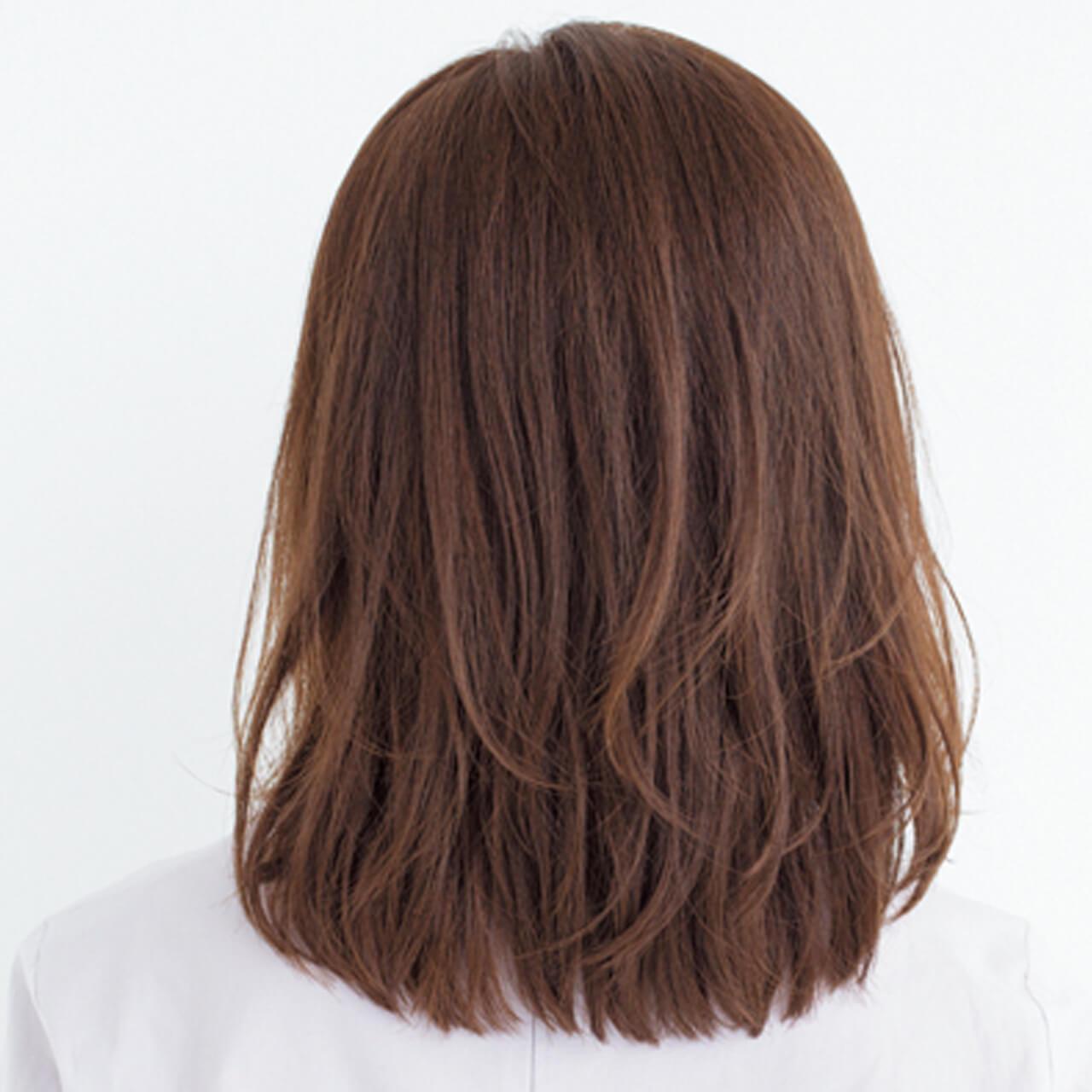 スッキリ見える外ハネの動きで髪の重さから目をそらして【40代のボブヘア】_1_3