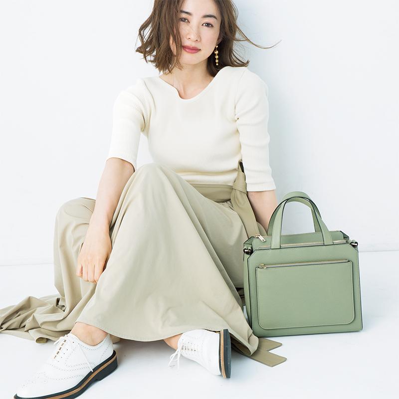 """この春は、""""ニュアンスカラーをバッグで""""が新鮮_1_1"""