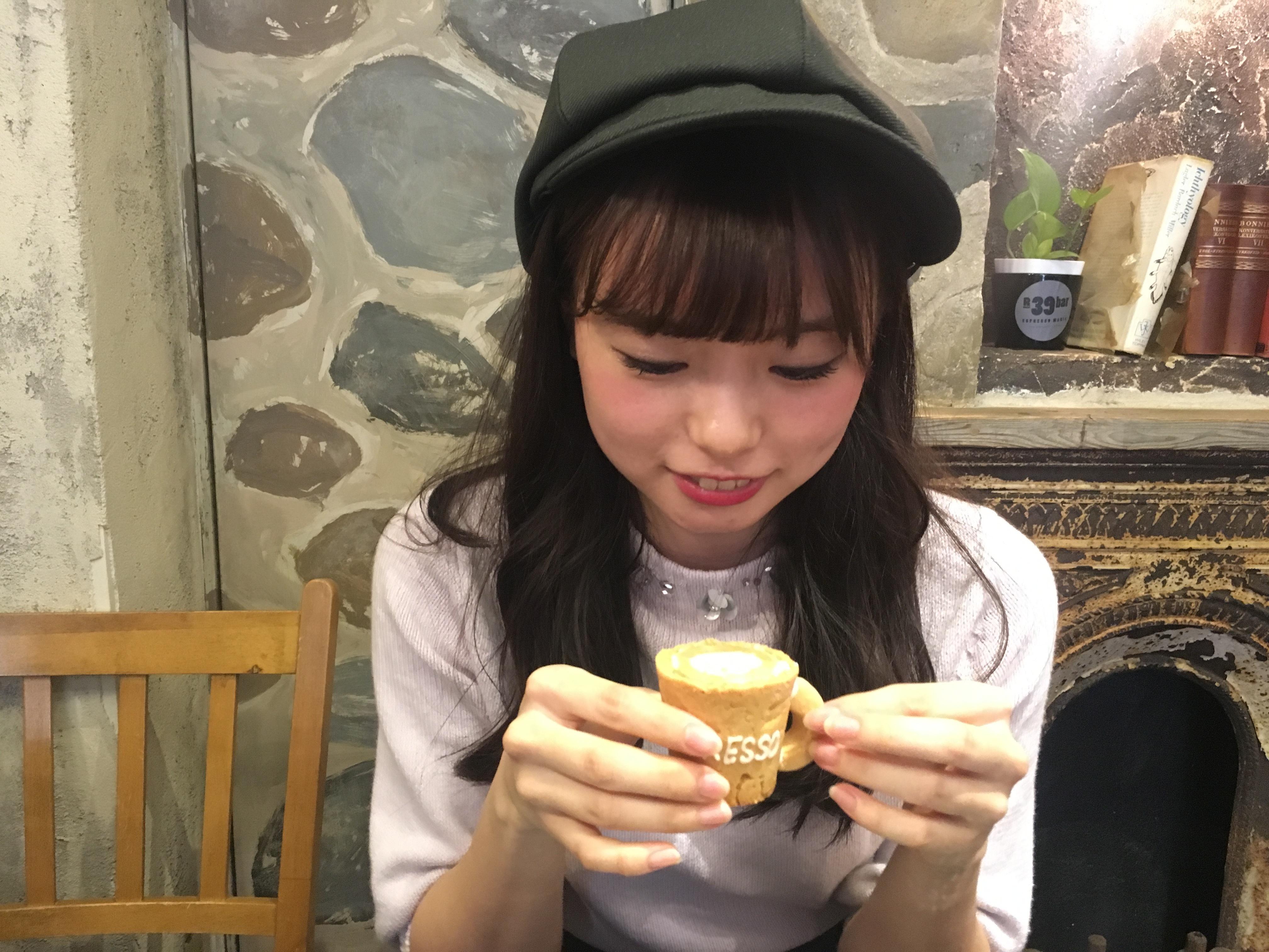 """【大阪カフェ巡り①】食べれるマグカップ""""エコプレッソ""""_1_3"""