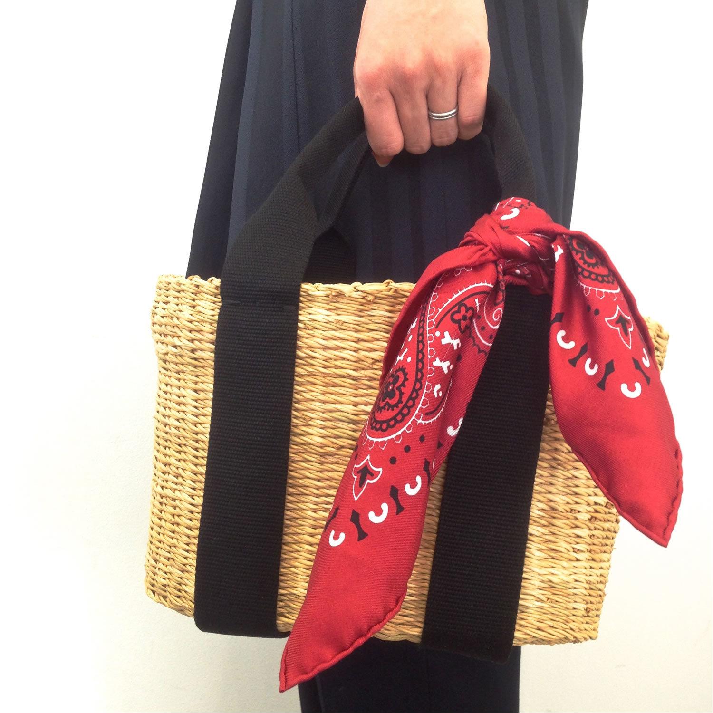 シンプルモダンなカゴバッグで夏コーデを新鮮に。_1_1