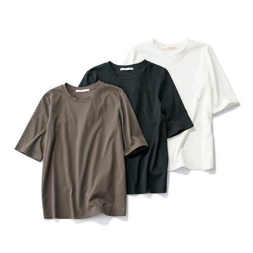 50代の今買いアイテムはコレ!体型をきれいに見せる「最旬Tシャツ」_1_2