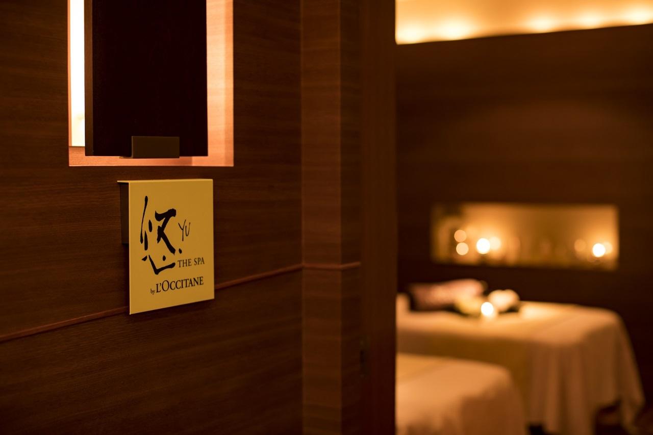 ホテル椿山荘東京「悠 YU, THE SPA by L'OCCITANE」店内