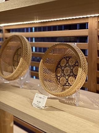 竹の工芸品