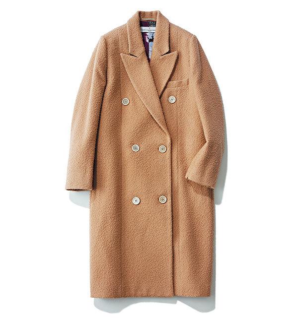 旬カラーの「ブラウン」のコートが1枚あれば、 おしゃれは一気に最旬に_1_1-2