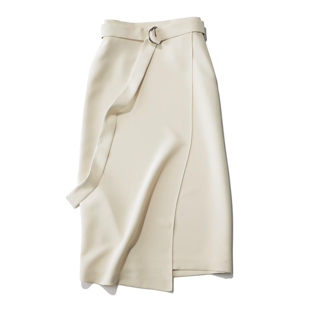 おしゃれプロが買ったキレイ色&モードな白スカート_1_3-3