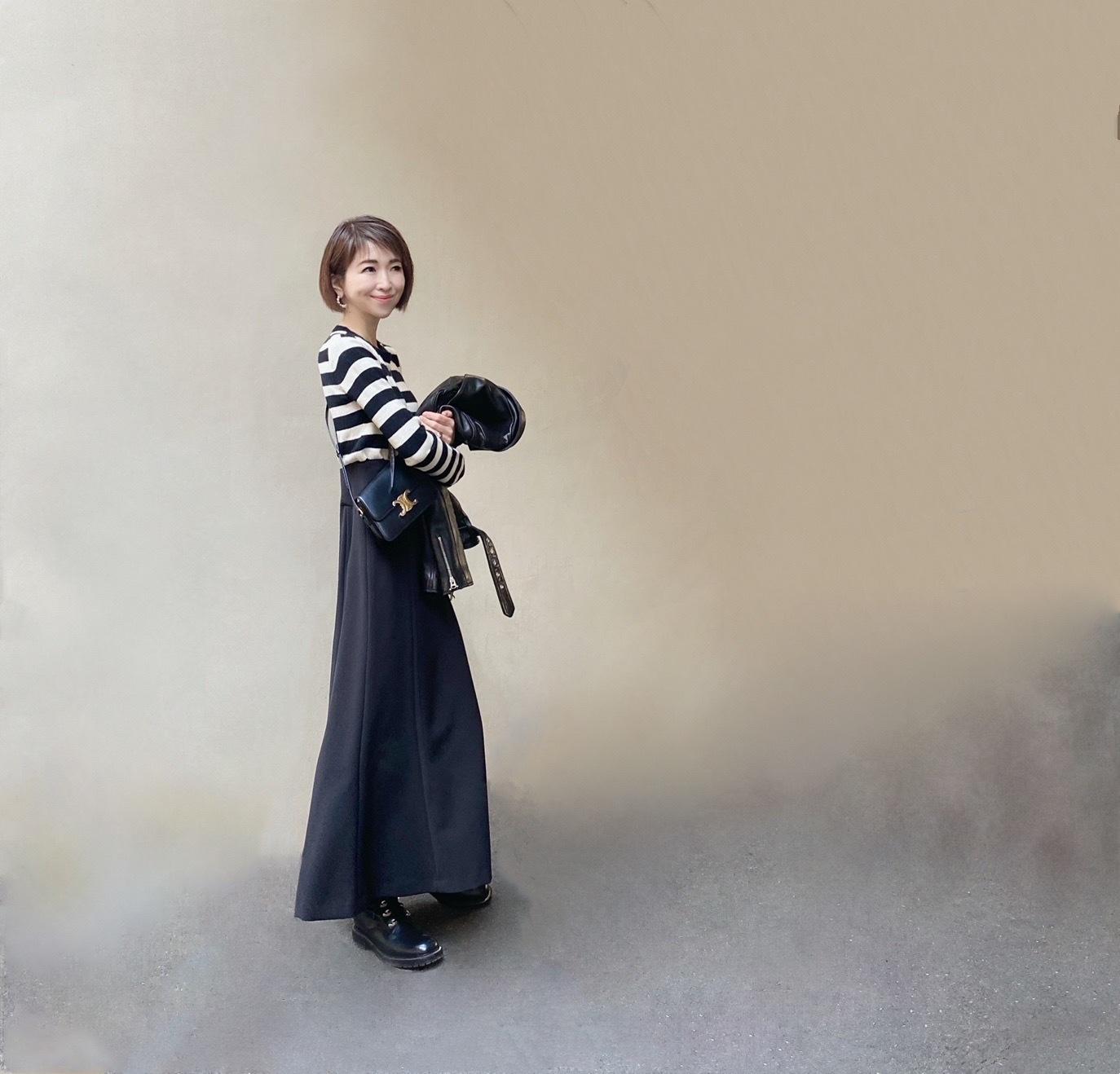 ハンサムロングスカート 〜ブラック編〜_1_4