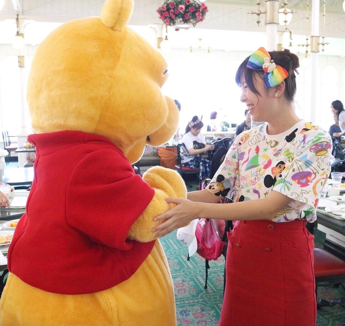 プーさんと一緒に朝食が食べられるレストラン♡_1_2-3